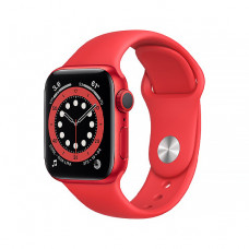 Apple Watch Series 6 40mm (PRODUCT) RED Aluminum Case with Red Sport Band (M00A3) OpenBox