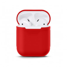 Чехол Silicone Case for Apple AirPods Red