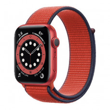 Смарт-часы Apple Watch Series 6 44mm (PRODUCT)RED Aluminum Case with (PRODUCT)RED Sport Loop Band(M02H3)