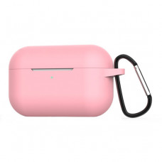 Чехол Silicone Case for Apple AirPods Pro with Carbine Pink
