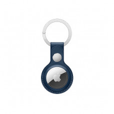 Чехол Leather Case for Apple AirTag Baltic Blue Original Assembly