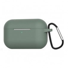 Чехол Silicone Case for Apple AirPods Pro with Carbine Pine Green