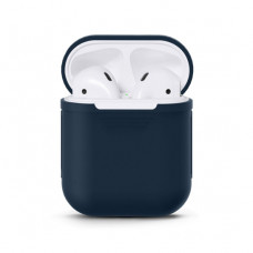 Чехол Silicone Case for Apple AirPods Midnight Blue