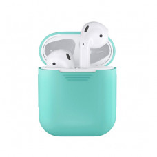 Чехол Silicone Case for Apple AirPods Mint