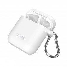 Чехол Usams Silicone Case for Apple AirPods White