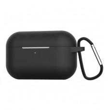 Чехол Silicone Case for Apple AirPods Pro with Carbine Black