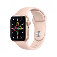 Openbox Apple Watch SE 40mm Gold Aluminum Case with Pink Sand Sport Band (MYDN2)