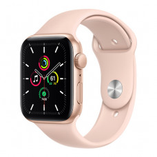 Apple Watch SE 44mm Gold Aluminum Case with Pink Sand Sport Band (MYDR2) OpenBox