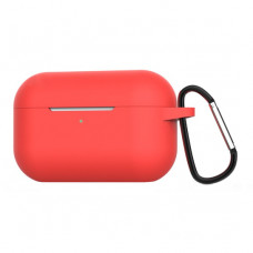 Чехол Silicone Case for Apple AirPods Pro with Carbine Red