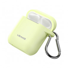 Чехол Usams Silicone Case for Apple AirPods Luminous