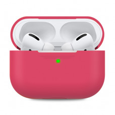 Чехол Silicone Case for Apple AirPods Pro Rose Red
