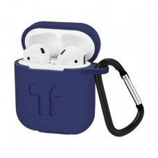 Чехол Silicone Case for Apple AirPods with Carbine Midnight Blue